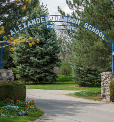 Alexander Dawson School Sign